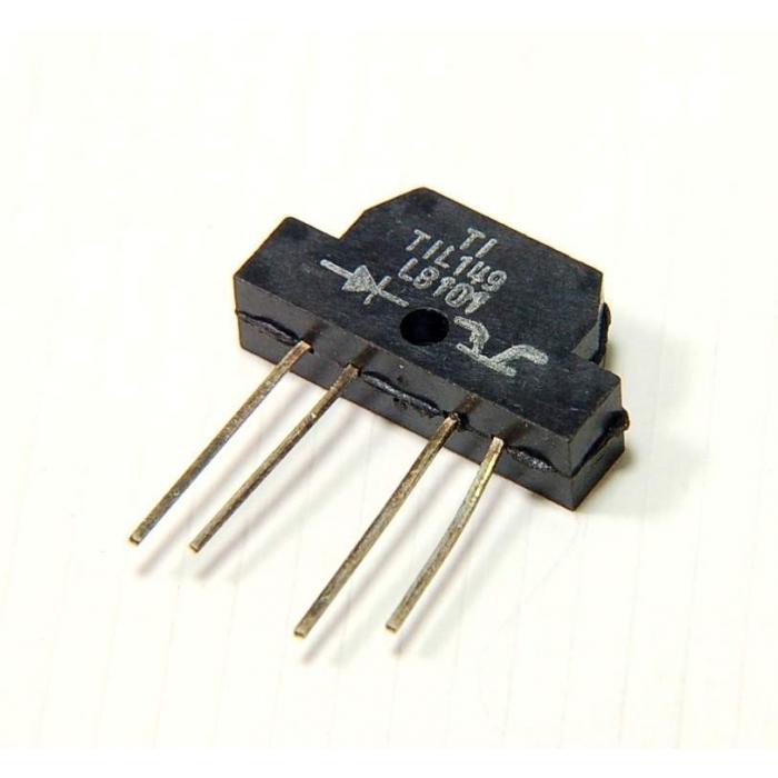 Texas Instruments - TIL149 - Sensor, Transmissive Detector. Reflective Sensing source & Sensor