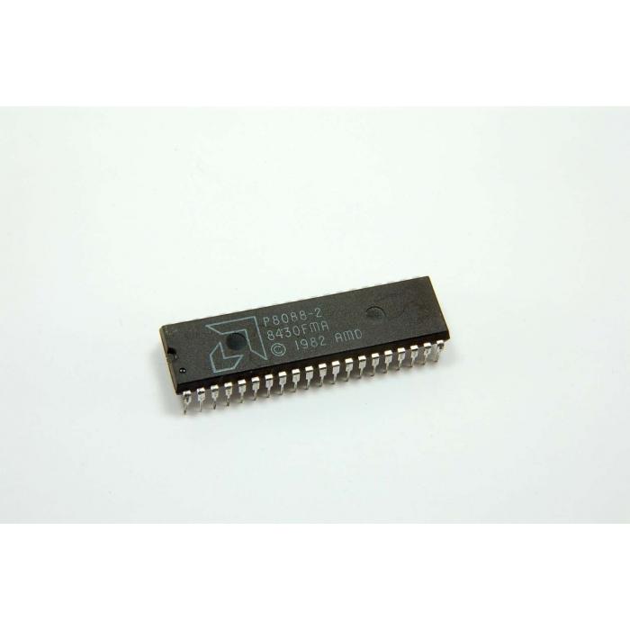 Advanced Micro Devices - P8088-2 - IC, microprocessor, 8-Bit CPU. Used.