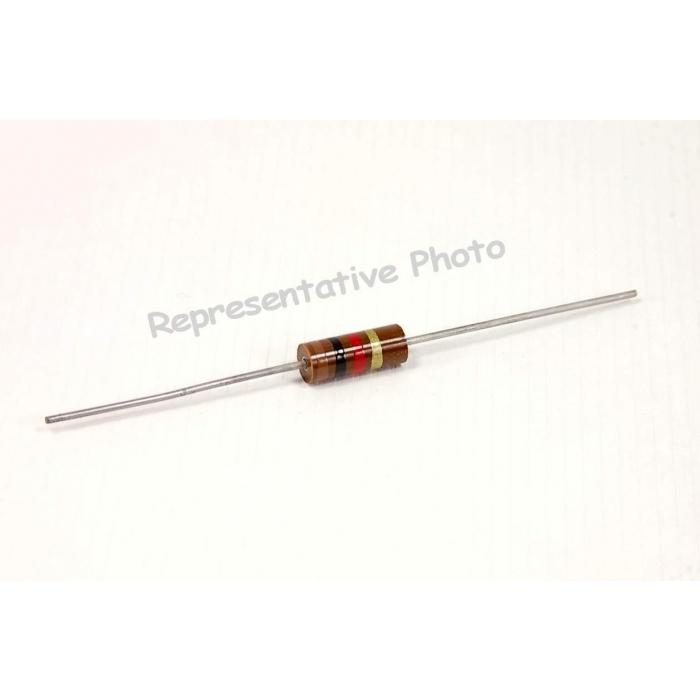 TRW Carbon Comp Resistors 1W 18 ohm  5/% Lot of 10