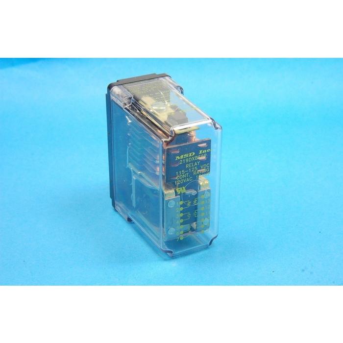 MAGNECRAFT/S&D - 219DXB69P-11S-12S - 120VDC 6Pole 10A ( 4-NO 2-NO ) enclosed