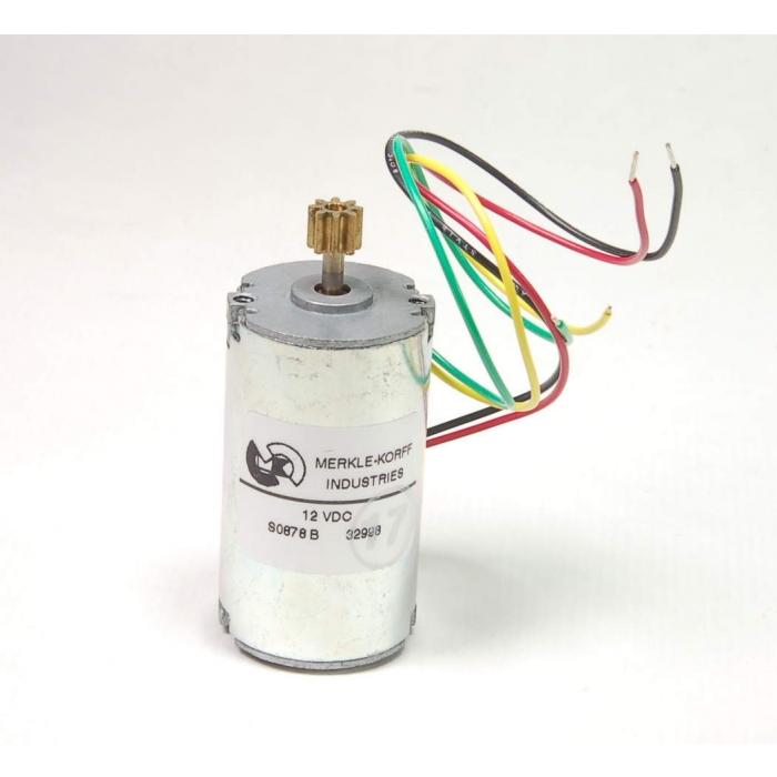 MERKLE-KORFF - EYQM-63264-15-2 - Motor, PM. 12VDC reversible, 8400RPM.