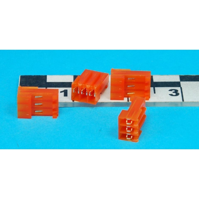 AMP/TYCO ELECTRONICS - 644460-3 - Connector, rectangular. Package of 10.