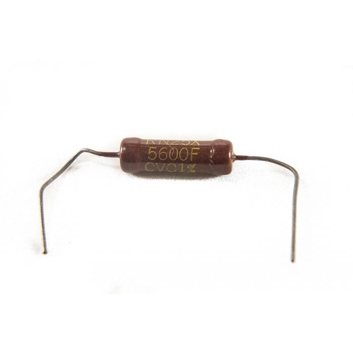 Clarostat - RN25X5600F - Resistor, ceramic. 560 Ohm 1W. New.