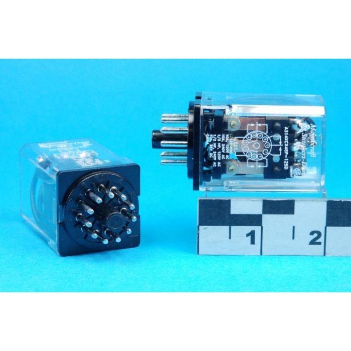 MAGNECRAFT/S&D - A314XCX48P-125VDC - Relay, power. Input: DC. 3PDT 10A 125VDC.