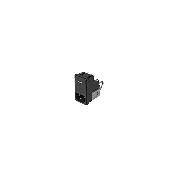 SCHAFFNER - FN-372-6-21 - AC Power Line Entry Module / EMI  RFI Fused Filter, 6 Amp