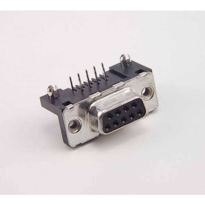 SOURIAU - D09S33E4GX00 - Connector, D-Sub. Fe DB9 Pin.