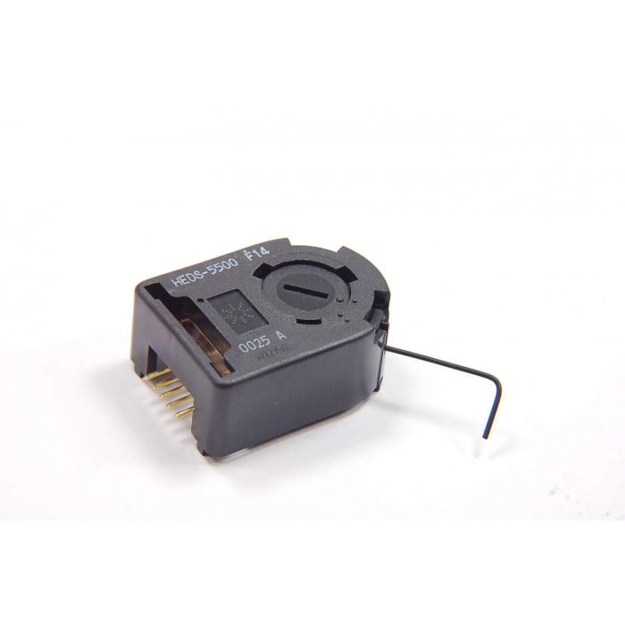 HEDS-5500#H12 Incremental Encoder 2 Channel 400 CPR 6mm Metal CW 1 Stück
