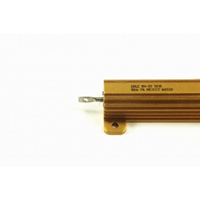 Dale RH-50 500-ohm 50W 1/% Wire-wound Resistor