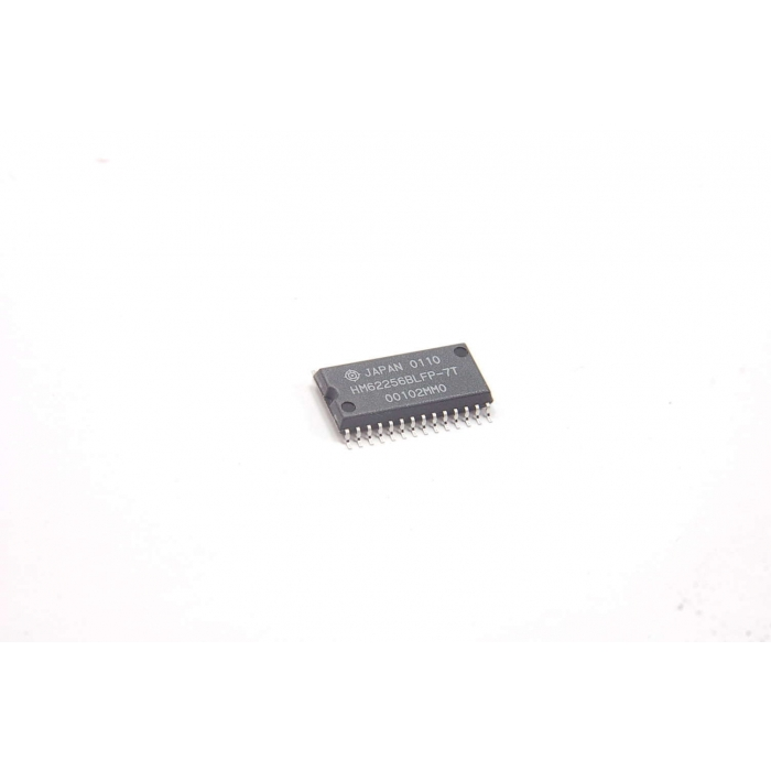 HITACHI - HM62256BLFP-7T - IC. memory. CMOS SRAM 28SMD.