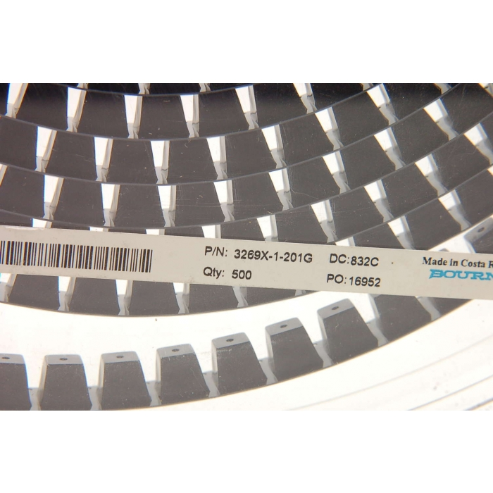 Bourns - 3269X-001-201G - Resistor, trimming. 200 Ohm 0.25W. SMD. New  3269X-1-201G.