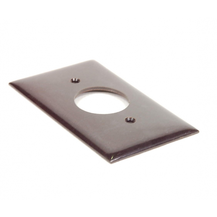 Challenger - 2810-M - Hardware, cover plate. For one round receptacle, 1.393