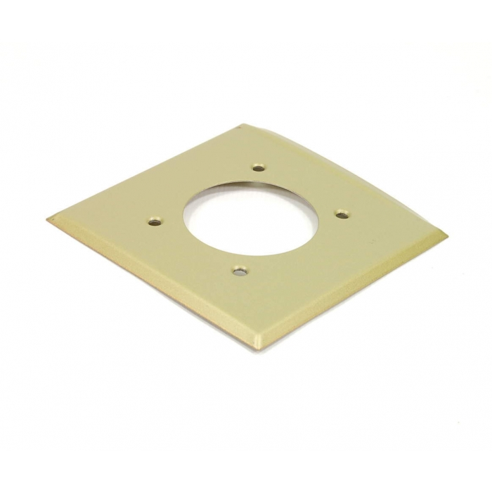 CHALLENGER - 3612-SSB - Gang plate for 30/50Amp 2 Wire receptacles.