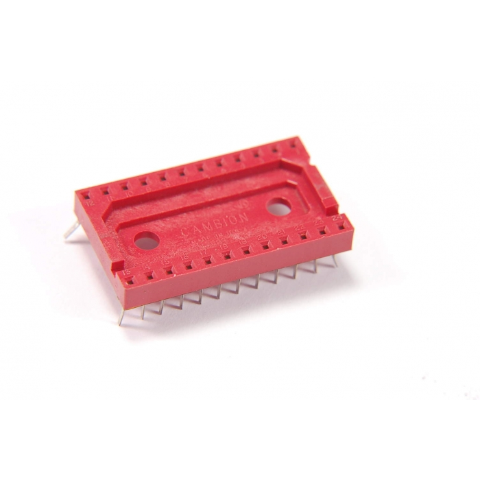 Midland Ross - 703 5324 / 01-04-12 - Connectors, IC sockets. 24 Dip. Package of 20-.