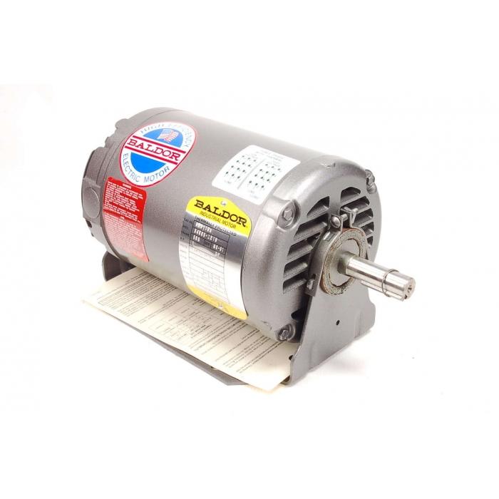 BALDOR - RM3115A - Motors, AC. Supply: 208/230/460VAC 3Ph 1HP.