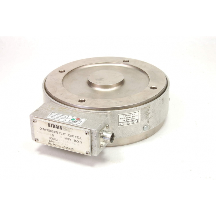 STRAINSERT - FL100C-2SPK - 50-ton Compression Flat Load Cell