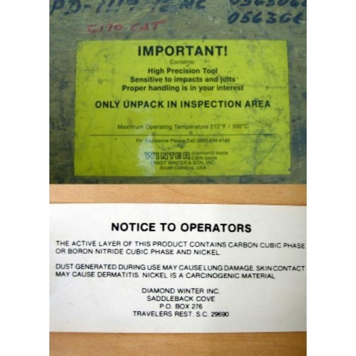 WINTER - 5UZ71P-100-39 PD-1119-18NC - Roller Dresser 4
