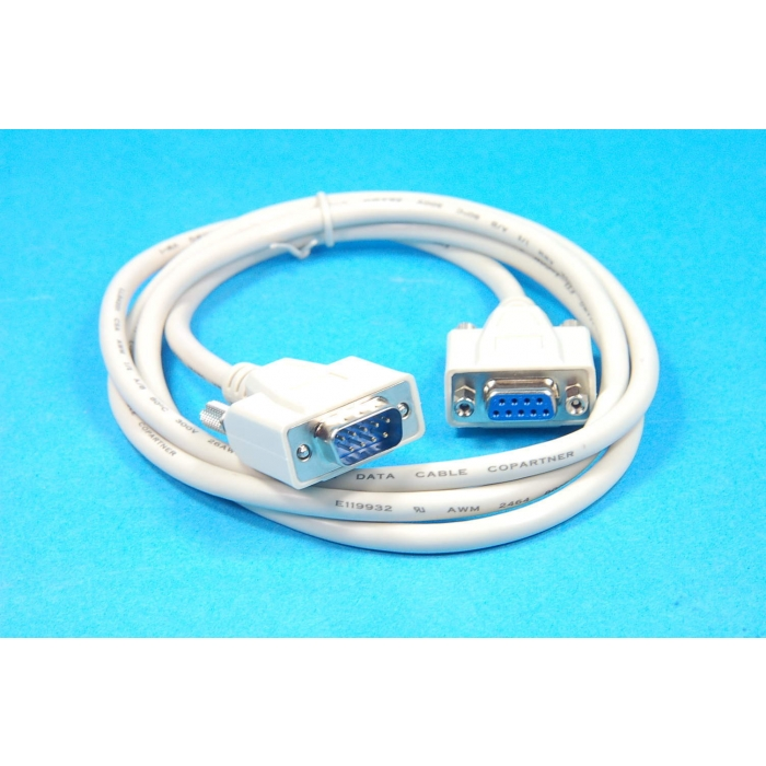 L-COM - CSMN9MF-5 - DB9 female to DB9 male extension cable.
