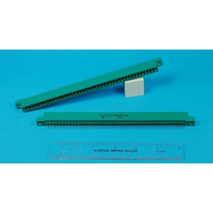 EDAC - 337-086-524-208 - Connector, PCB edge. 43 Position / 86 Pin.