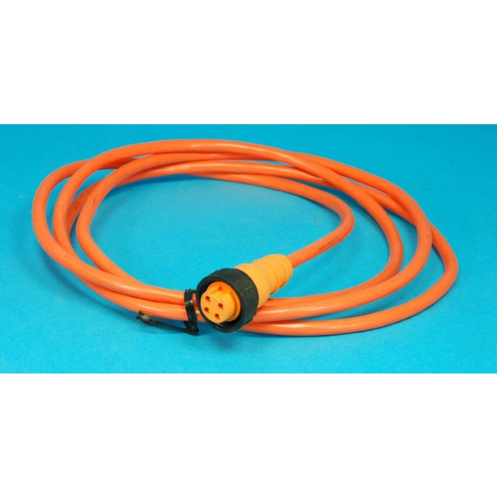 Turck - RK40/2m - Cable assembly. Single end cordset straight female mini single keyway 300VAC/DC 9Amp.
