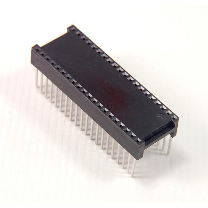 CIRCUIT ASSEMBLY CORP. - CA40S-T2WW - IC socket. Dip 40 pin WW.