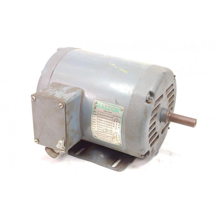 BALDOR - 35B11-372 - Motor, AC. Supply: 208-220/440V 3-Phase