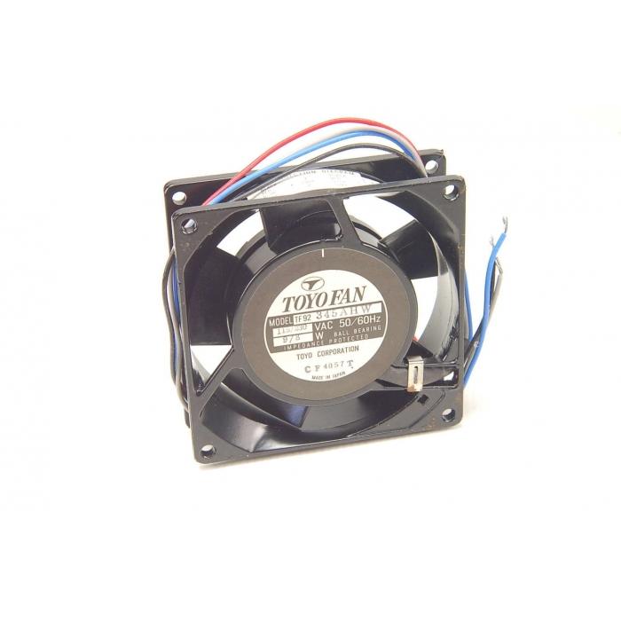 TOYO - TF92345AHW - Fan, axial. 115/230VAC 50/60Hz 8/9 watt.