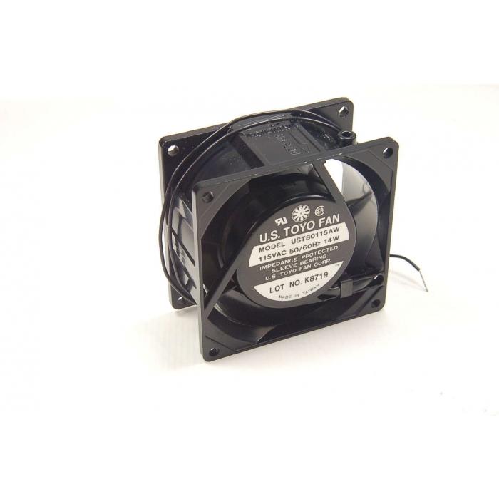TOYO - UST80115AW - Fan, axial. 115VAC 50/60Hz 14 watt.