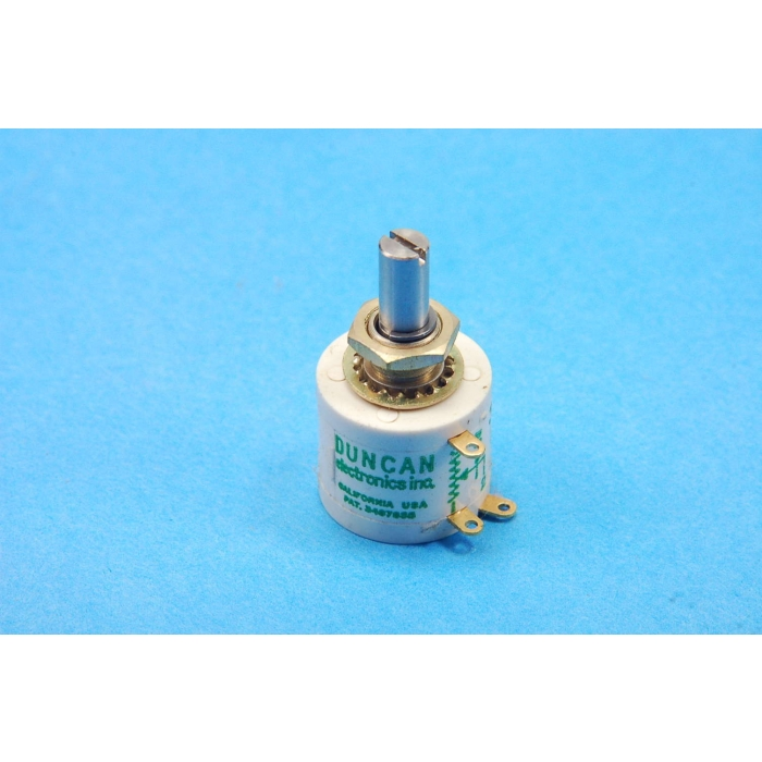 Duncan Electronic Inc - 3253-201 - Potentiometer. 200 Ohm 3W. 10 Turn.