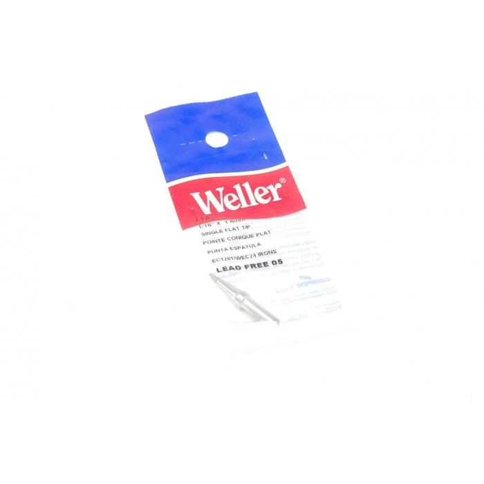 Cooper Tools/Weller - LIA - Soldering tools. Single flat tip 1/16