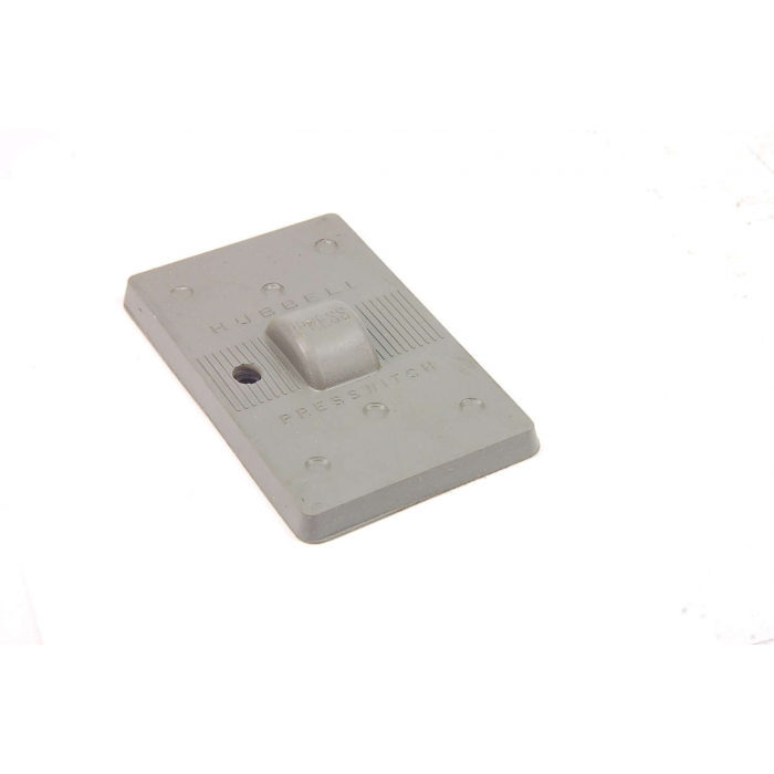 HUBBARD - HBL1785 - Cover plate. Switch plate for P/B switches.