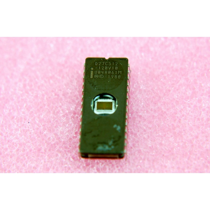 INTEL - D27C512-120V10 - IC, EPROM. 512K (64K x 8) CHMOS.