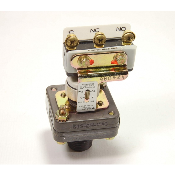 IMO BARKSDALE - E1S-GH-VAC - Vacuum switch SPDT adjustable 0.5 to 30