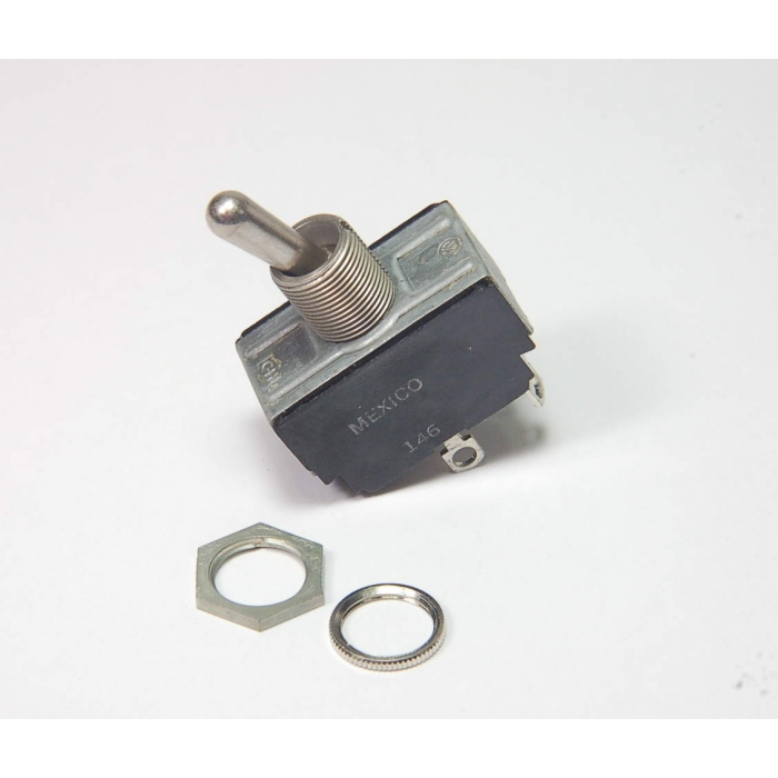 Cutler-Hammer / Eaton - 7590K6 - Switch, toggle. Contacts: DPST (2 Position).