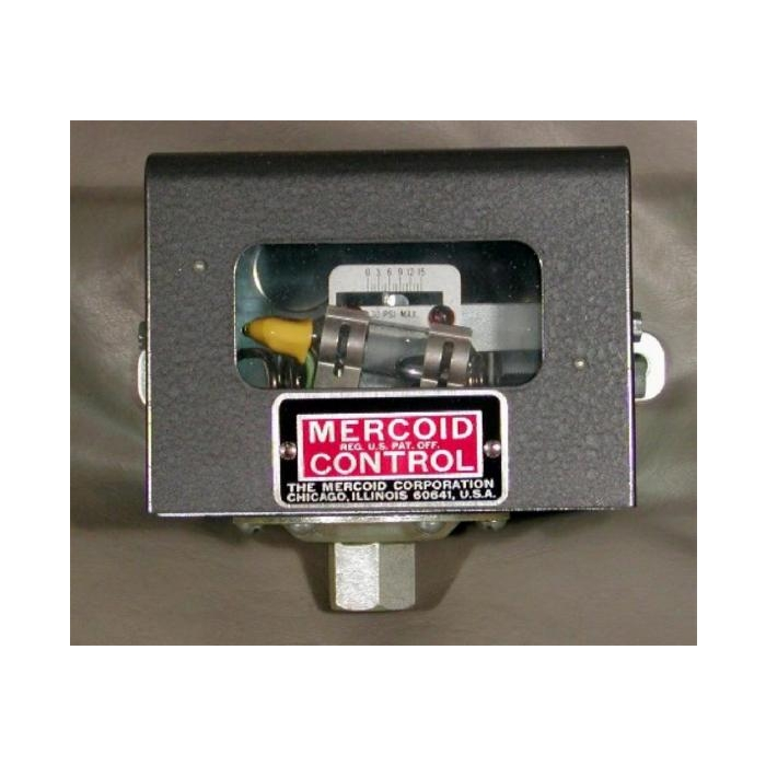 Dwyer Instruments / Mercoid Control - AS-9 - Pressure Switch 4 AMP, Adjustable Pressure Control 0-15 PSI