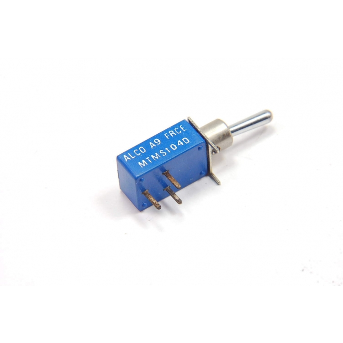 ALCOSWITCH/AUGAT - MTMS104D - Switch, toggle. SPDT.