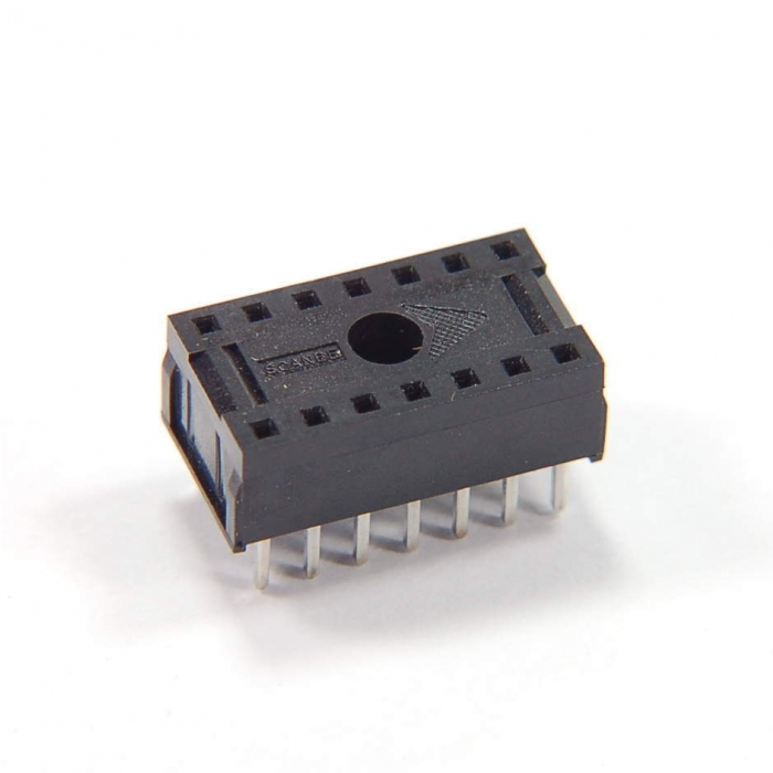SCANBE - 70014-54 - Connectors, IC sockets. 14 Dip. Package of 25.