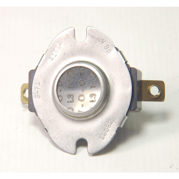 THERM-O-DISC - 41T14-L160-38116 - Press-to-Reset Thermostat L160