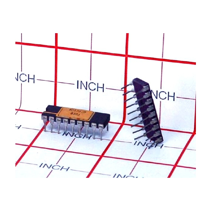 Analog Devices Inc - AD570JD - IC, A/D Converter. 8 Bit.