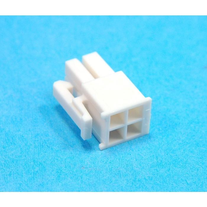 MOLEX - 039012045 - Mini Fit JR. 4 Position female.