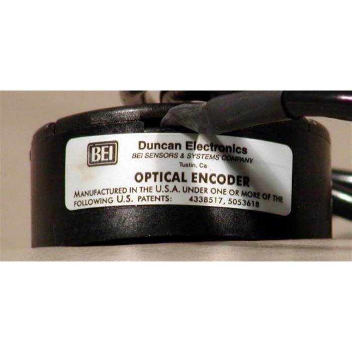 BEI - MX21-591-1 - Rotary Optical Encoder. Incremental. Insta-Mount.