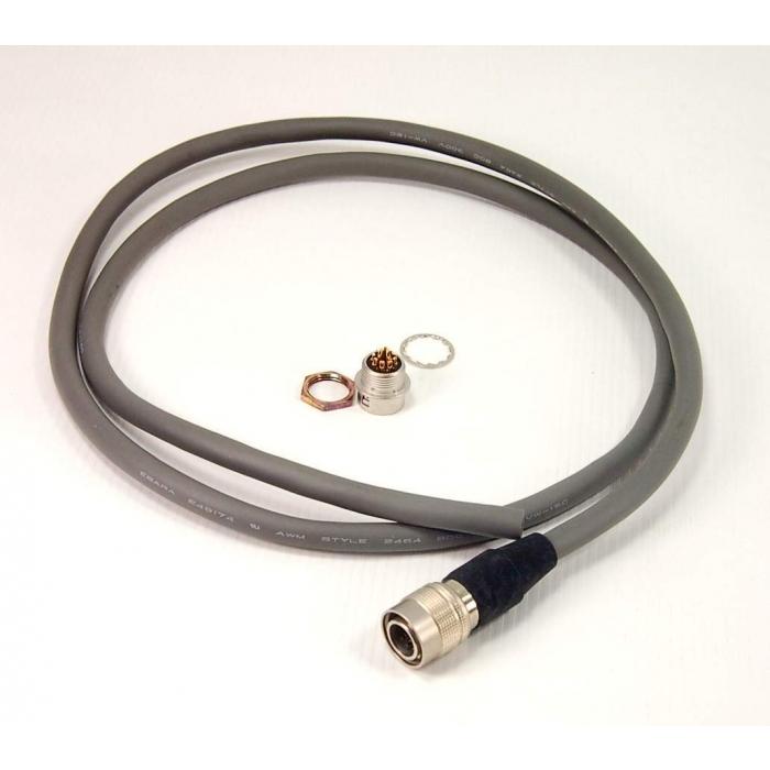 Hirose Electric Co Ltd - HR10A-10R-12S & 12P - Connector set. 12 position with 38