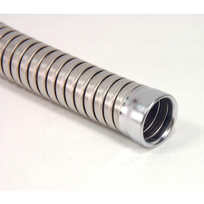 FMC - Anaconda Flexcon - 5-183 -  Stainless Steel Flexible Conduit, Spiral Interlock, 1 Inch Outer Diameter.