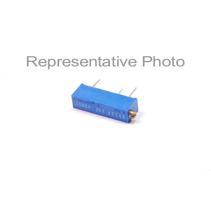 Bourns TRIMPOT - 3006W-001-202 - Resistor, trimming. 2K Ohm 3/4W.