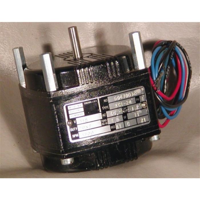 BODINE ELECTRIC CO. - KCI-24 G04702 72 - Motor, AC. 1PH 115VAC 1200RPM 11W.