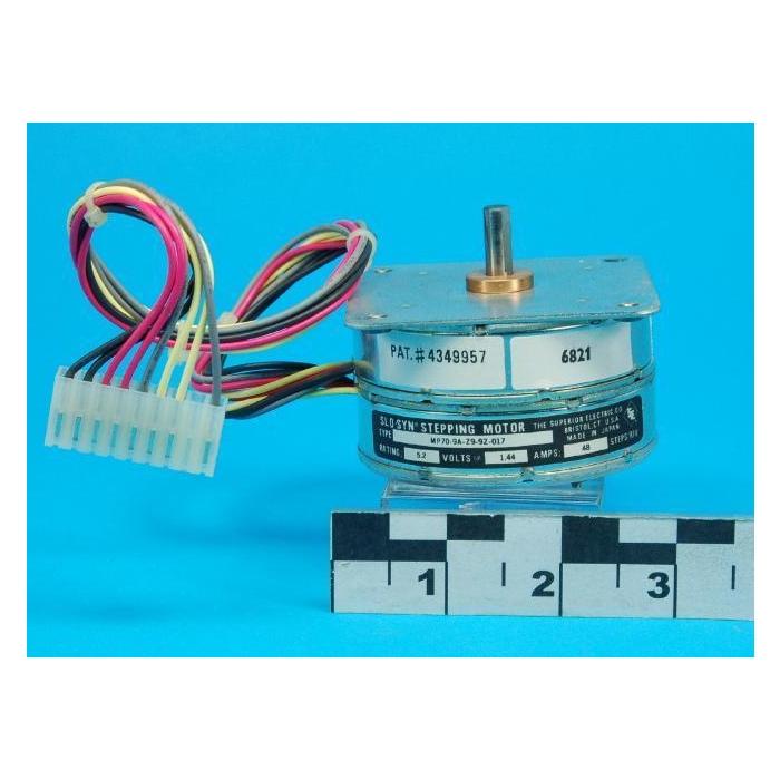 SUPERIOR ELECTRIC CO. - SLO -SYN - MP70-9A-Z9-9Z-017 - Motor, stepper. 5.2VDC 1.44Amp.