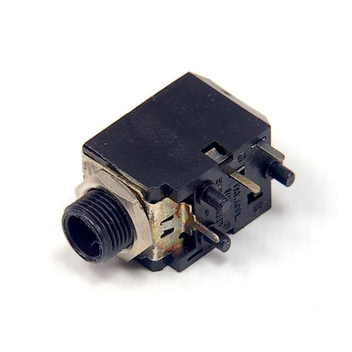 Switchcraft - RN112APC - Connector, audio. Quarter inch phone jack.