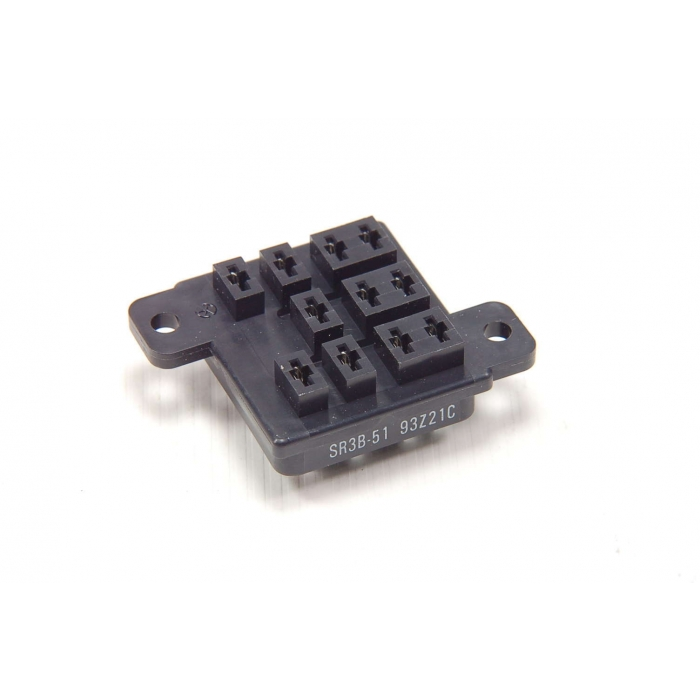 MSD INC - SR3B-51 - Relay, sockets. 250VAC 10Amp. Contacts: 11.