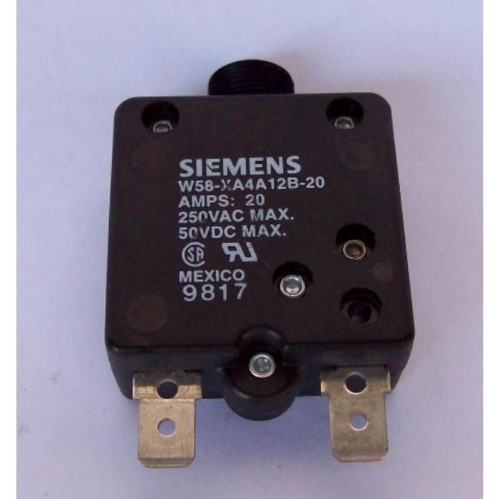 SIIEMENS W58-X91A4-20 20 AMPS CIRCUIT BREAKER