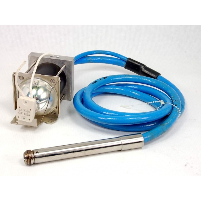 General Electric - EKZ - Lamp, quartz. Lamp and cable.