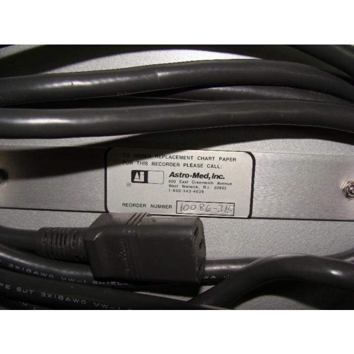 ASTRO-MED - DASH II - 2-CH CHART RECORDER - No Pens